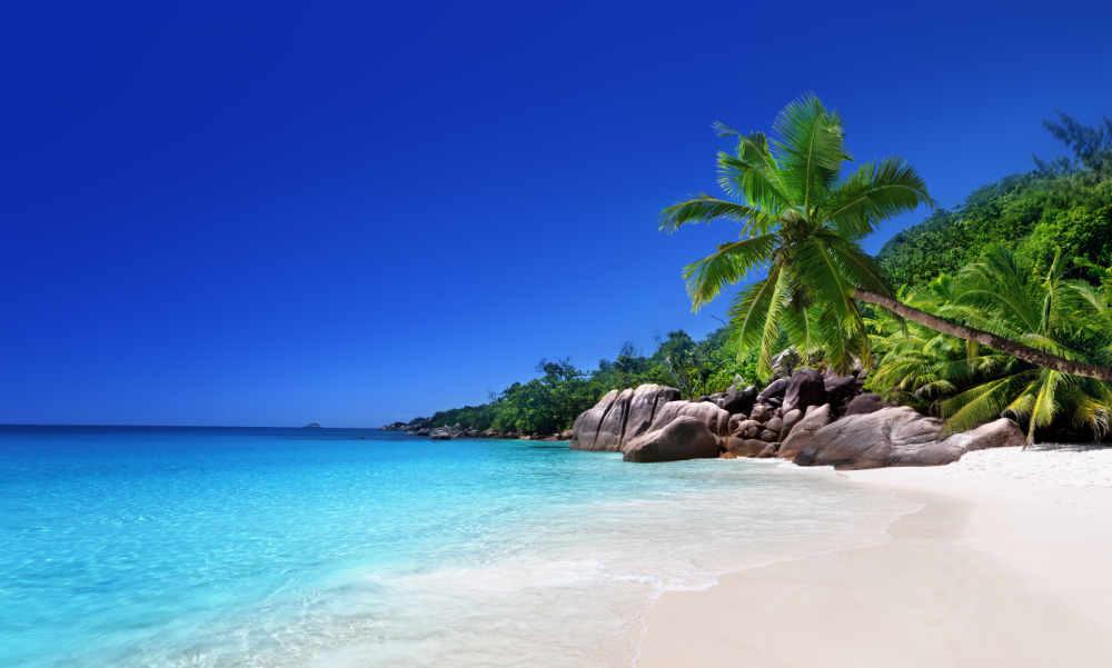 Plage de l'Ile de Praslin, Les Seychelles