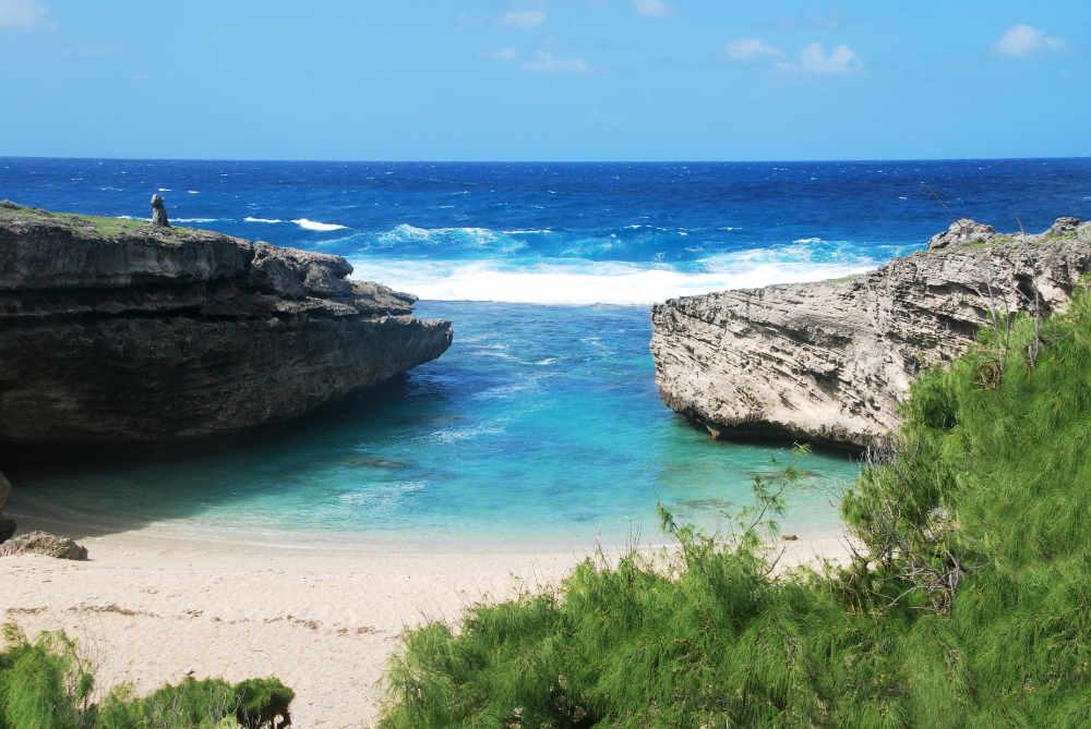 Crique : Plage Trou d'Argent à Rodrigues