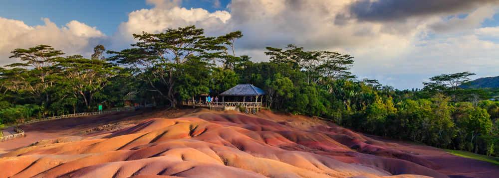 Ile Maurice : Terres de 7 couleurs à Chamarel