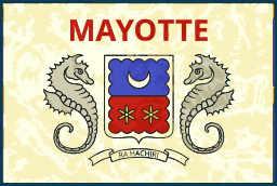 Drapeau Ile Mayotte