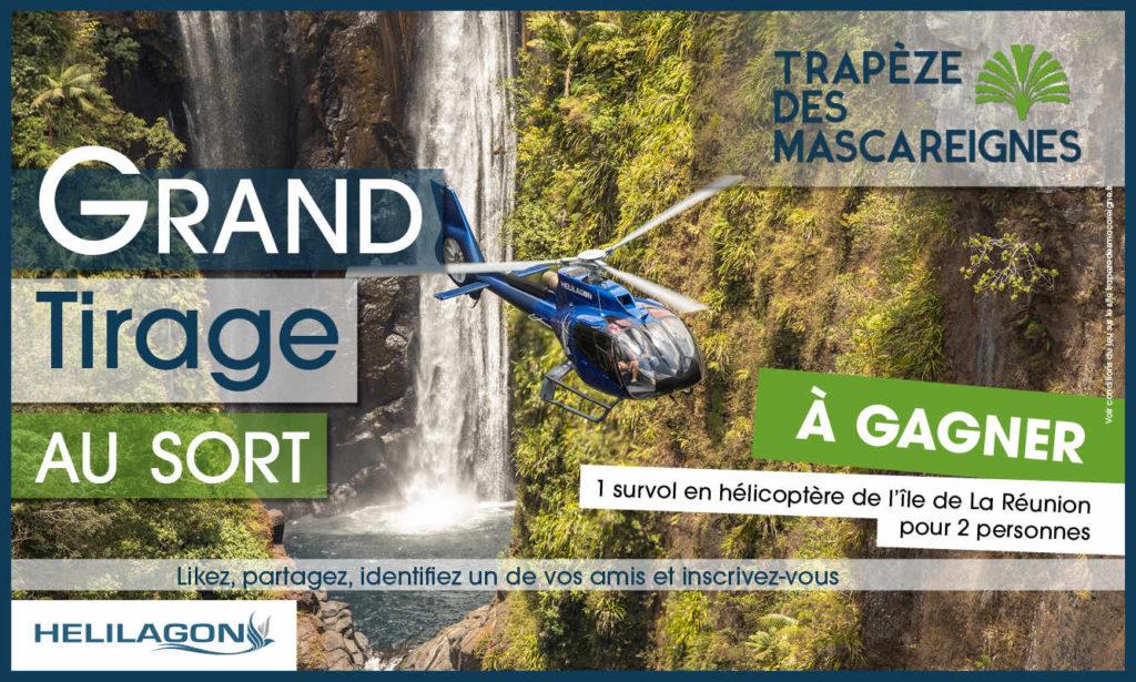Jeu concours Réunion : tirage au sort Trapèze des Mascareignes gratuit